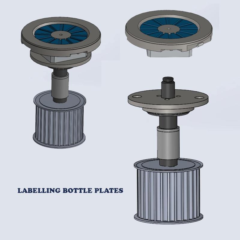 Labeller Bottle Plate, Labelling Machine insert Pads, Bottle Labeller support plates pads, Labelling Bottle plates, Labelling Labeller Bottle Pad insert